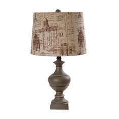 Montauk Table Lamp++Crestview Collection