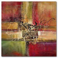 <li>Artist: Ricardo Tapia</li> <li>Title: 'Round and Round'</li> <li>Product type: Giclee, gallery wrapped</li>