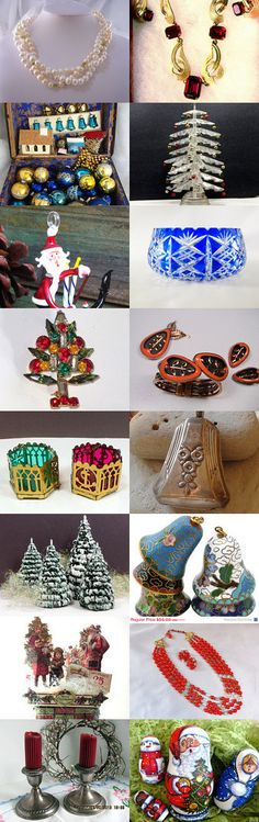 Christmas Teamvintageusa by Patsy Grider on Etsy--Pinned with TreasuryPin.com