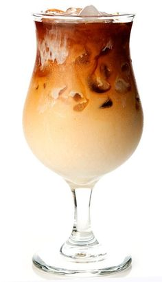 A delicious recipe for Thai Iced Coffee, with coffee, sugar, cream and cardamom