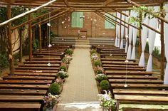 Decoração casamento rustico a noite festa de casamento chic no campo festas wedding romantico simples weddingideas weddinginspiration salão casarão la villa em mogi das cruzes