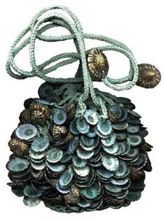 Sea Witch:  #Sea #Witch ~ Seashell bag.