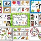 Mega Alphabet Letter Sounds Pack! This 180 page pack is chock full of fun and engaging activities for Pre-K to K and for RTI in 1st!