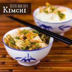Kimchi Recipe that is Quick and Easy - classic Korean Condiment