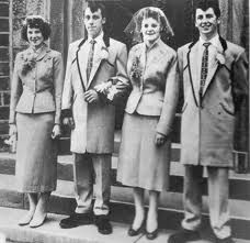 London 1950s: Teddy boys and girls