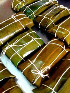Preparativos de Hallacas y Bollitos. Pido al cielo que todo venezolano las pueda hacer este 2015! Plato típico navideño de Venezuela