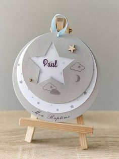 Ideas Bautizo, Diy And Crafts, Paper Crafts, New Baby Cards, Ideas Para Fiestas, Partys, Baby Scrapbook, Stamping Up, Baby Love