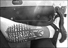 NE.Perkins / Forest Tattoo / Douglas Fir tattoo / Bigfoot tattoo / Sasquatch tattoo  / oregon tattoo / Wilderness Tattoo / Tattooist Doyle Wright: Brookside Body Piercing and Tattoos / Tulsa, Oklahoma  nephotoimages.com
