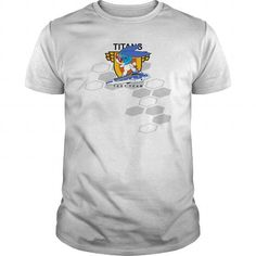 Awesome Tee TITANS TEST TEAM SURFING BUNNY Shirts & Tees