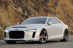 Audi Quattro Concept motorisée par un V8 de près de 650 chevaux !