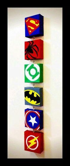 Super Hero canvas
