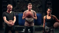 Members of STOMP show you how to make rhythm with basketballs. #LetsMakeRhythm