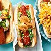 16 Fantastic Works of Hot Dog Perfection...usually not a big hotdog fan, but these sound delicious!