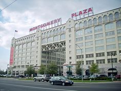 Montgomery Plaza, Fort Worth- home to great restaurants and delicious fro-yo