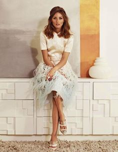Funky outfit done with class Always admire her style -Olivia Palermo Marie Claire Spain Estilo Fashion, Moda Fashion, Cute Fashion, Asos Fashion, Fashion Idol, Fashion Spring, Marie Claire, Estilo Olivia Palermo, Love Her Style