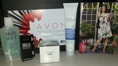 My new starter kit so excited to get to test these items out! Place the first order for my new biz...https://crystallowery.avonrepresentative.com/