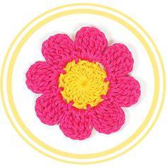 TUTORIALES DE FLORES VARIADAS Flor de Ocho Pétalos a Crochet #2 | PATRONES VALHALLA // Patrones gratis de ganchillo