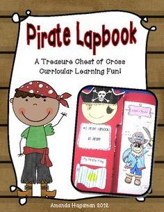 pirate themed lapbook summer delights pinterest
