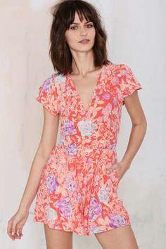 Yumi Kim Sienna Floral Romper