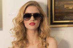 Perfect look for the summer! [ VelvetEyewear.com ] #sunglasses #luxury #style