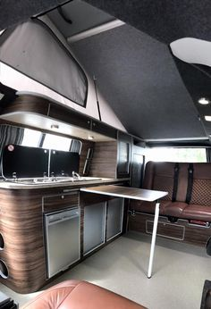 Volkswagen bus interior ideas 41 Tagged at Coolest for All 2018 Vw T5 Interior, Volkswagen Bus Interior, Campervan Interior, Campervan Ideas, Interior Ideas, Interior Design, Vw Transporter Camper, T5 Camper, Sprinter Camper