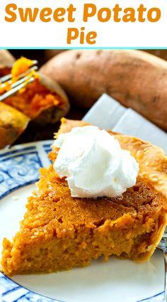 Southern Sweet Potato Pie #southerndessert Sweet Potato Casserole Southern, Sweet Potato Recipes, Homemade Pie Crusts, Pie Crust Recipes, Frozen Pie Crust, Easy Pie, Simple Pie, Southern Desserts, Potato Pie
