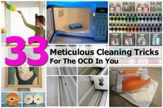 33 Meticulous Cleaning Tricks For The OCD In You