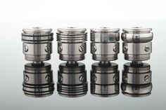 Beauty rings for the MECHA head. From Stainless Steel 304L (food grade)