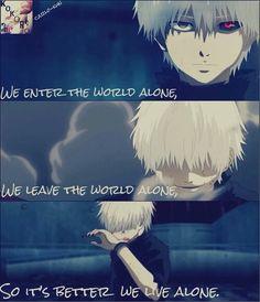 Alone :( KANEKI NO!!! T.T