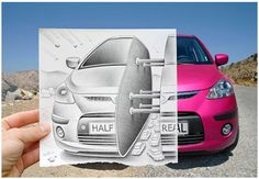 Incredible Collection of 'Pencil Vs. Camera' Art By Ben Heine Ben Heine is the pioneering genius behind the 'Pencil vs Camera' photography.we have assembled 40 splendid examples of his works. Pencil Camera, Camera Art, Pencil Art, Creative Photography, Amazing Photography, Camera Photography, Digital Photography, Creative Pencil Drawings, Creative Artwork