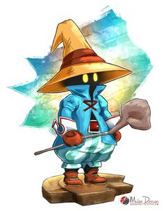 Final Fantasy IX : Vivi Ornitier by Milee-Design.deviantart.com on @DeviantArt