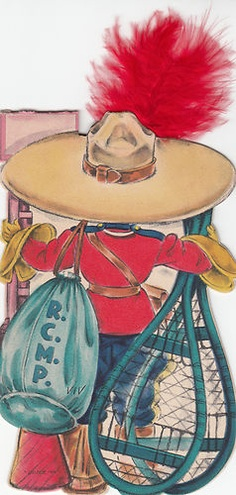 1948 Hallmark Dolls of The Nations 4 Paper Doll Cards Mexico China France Canada | eBay