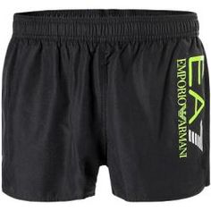 Ea7 Bade Shorts Herren, Mikrofaser, schwarz ArmaniArmani
