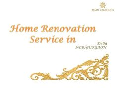 home renovation work, but still confused, Home renovation is a very difficult job for anyone. It redesigns the dream and makes it alive.  It taking couple of times for planning, expert experience and much more time to synchronise everything with proper manner.   #homeRenovation http://madscreations.in