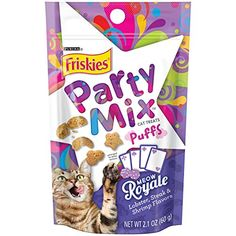 Friskies Party Mix Meow Royale  21oz * Find out more about the great product at the image link.
