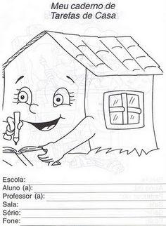 CAPAS PARA CADERNO   Cantinho do Educador Infantil