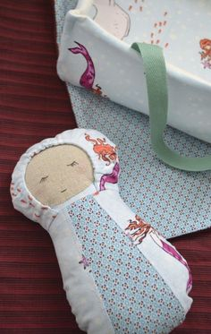 How sweet is this baby doll with carrier and blanket? This would make such a special handmade gift for little ones