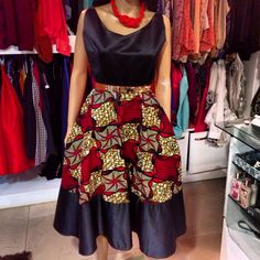 Look at this Fashionable african fashion African Dresses For Women, African Print Dresses, African Attire, African Fashion Dresses, African Wear, African Women, African Prints, Ankara Fashion, African Style
