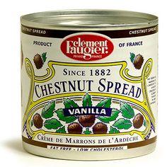 Clement Faugier Chestnut Spread Creme de Marrons de l'Ardèche - 17.5 oz.