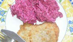 Cviklový šalát Y Recipe, Polish Recipes, Russian Recipes, Food Dishes, Cauliflower, Meat, Vegetables, Polish Food Recipes, Cauliflowers