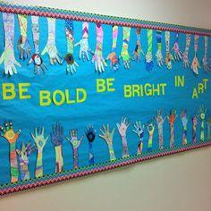 it's art day: Popular Bulletin Boards Projects For Kids, Art Projects, Project Ideas, Kids Bulletin Boards, Preschool Bulletin, Art Room Posters, Art Classroom, Classroom Ideas, Disney Classroom