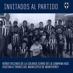 ¡#SomosRayados con Nuestros Niños! Hoy nos visitaron niños del Cerro de la Campaña del Municipio de Monterrey. #ESR
