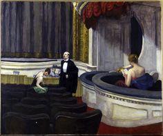 Edward Hopper Two on the Aisle   1927. Oil on canvas. 102 x 122,5 cm. The Toledo Museum of Art, Toledo, Ohio.
