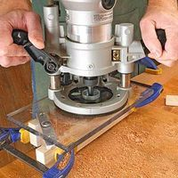 10 Ways to Get the Most from Your Plunge Router.   Here are 10 ways a plunge router beats a fixed-base router.