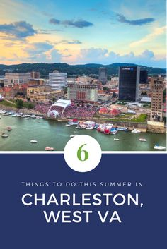 Get out and enjoy everything that summer in Charleston, WV has to offer! There are tons of festivals, concerts, and events for you and your family to enjoy.
