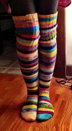 Ravelry nikita s Sock Opus Baby Hats Knitting, Knitting Socks, Hand Knitting, Knitted Hats, Knitting Patterns, Knit Socks, Knitting For Dummies, Ravelry, Thigh High Socks