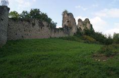 Rempart château à Blâmont. Lorraine