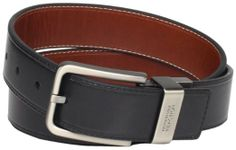"Kenneth Cole REACTION Men's Brown Out 1-1/2"" Leather Reversible Belt"