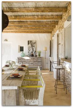 Art Symphony: A gorgeous house at Formentera Spain...