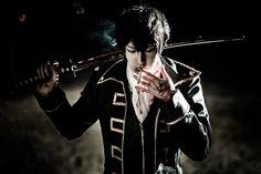 Gintama cosplay - Cool man Hijikata Toushiro